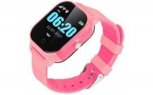 Смарт годинник GOGPS К23 рожевий