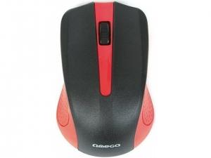 Мишка провідна Omega OM-05R Red