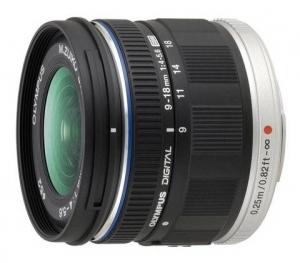 Об'єктив OLYMPUS EZ-M918 ED 9-18mm 1:4.0-5.6 Чорний