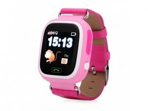 Смарт годинник з GPS трекером GOGPS К04 рожевий