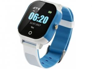 Смарт годинник GOGPS К23 синій з білим