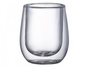 Набір чашок Ardesto з подвійними стінками для еспресо, 80 мл, H 7,3 см, 2 од., (AR2608G)