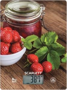 Ваги кухонні Scarlet SC-KS57P61 полуниці