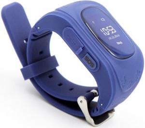 Смарт годинник GOGPS ME K50 Темно синій nalichie