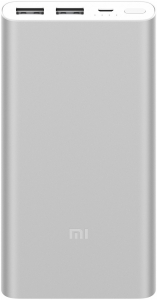 УПБ Xiaomi Mi Power Bank 2S 10000 mAh VXN4228CN Silver