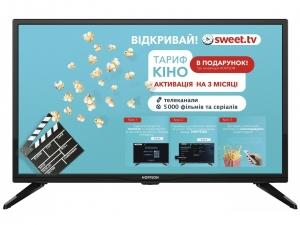 Телевізор LED Hoffson A24HD300T2S