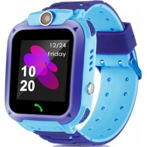 Смарт годинник для дітей Smart baby S12 with GPS Blue