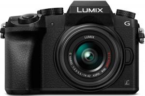 Цифрова камера Panasonic DMC-G7 Kit 14-42mm Black (DMC-G7KEE-K)