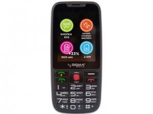 Мобільний телефон Sigma Comfort 50 Elegance 3.0 Black