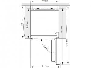 Холодильник Gorenje R6191FW nalichie
