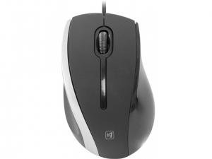 Мишка провідна DEFENDER (52340)#1 MM-340 чорний+сірий