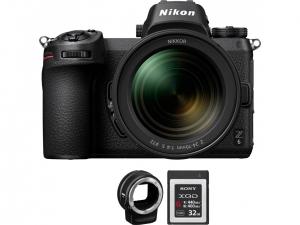 Цифрова камера Nikon Z 6 + FTZ Adapter Kit