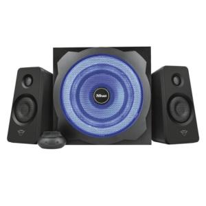 Акустична система Trust 2.1 GXT 628 Tytan Illuminated Speaker Set Black