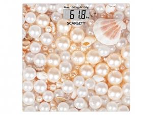 Ваги підлогові Scarlett SC-BS33E085 перлини