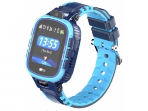 Смарт годинник GOGPS ME K27 Синій