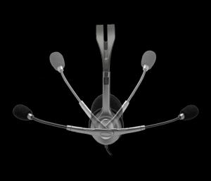 Навушники LOGITECH Гарнитура Stereo Headset H111 (сірий) nalichie