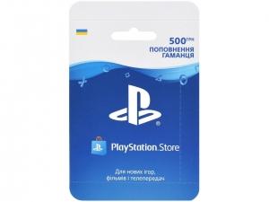 Поповнення гаманця PS Store. Карта оплати 500 грн.