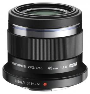 Об'єктив OLYMPUS ET-M4518 45mm 1:1.8 Чорний