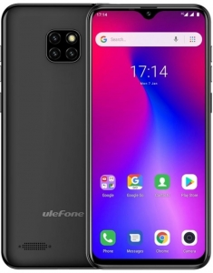Смартфон Ulefone S11 1/16 Gb Black чохол в подарунок