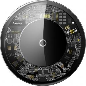 Зарядний пристрій бездротовий Baseus Crystal 2A