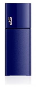 Флеш USB 64 Gb Silicon Power Blaze B05 Deep Blue (SP064GBUF3B05V1D)