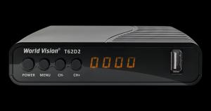 Т-2 тюнер World Vision T62D2 Dolby Digital DVB-T2