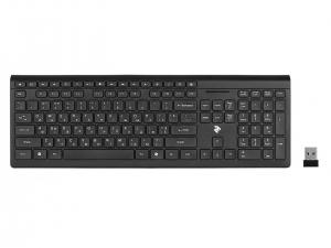 Клавіатура безпровідна 2E KS210 Slim WL Black
