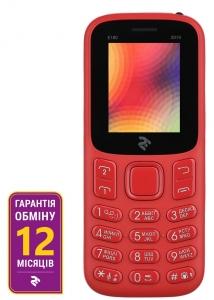 Мобільний телефон 2E E180 DualSim Red