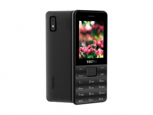 Мобільний телефон Tecno T372 Triple SIM Black