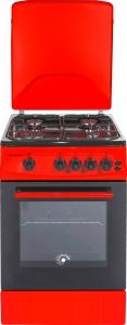 Плита газова COOKER-MILANO ML50 G2/01 черв 5077
