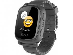 Смарт годинник для дітей Elari KidPhone 2 Black