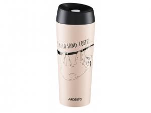 Термокружка Ardesto Coffee time Bradypus 450 мл, (AR2645DBE)