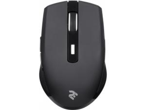 Мишка безпровідна 2Е MF214 WL Безшумна Black
