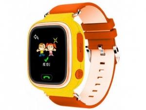 Смарт годинник для дітей Q90 Yellow/Orange