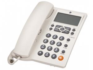Дротовий телефон 2E AP-410 White