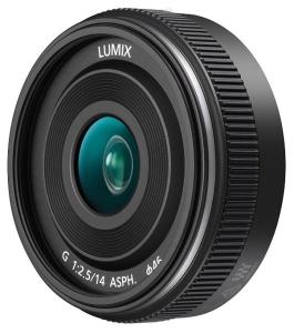 Об`єктив Panasonic Micro 4/3 Lens 14mm F/2.5 (H-H014AE-K)