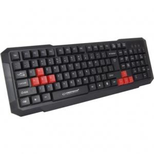 Клавіатура провідна Esperanza EGK102 USB Red (EGK102RUA)