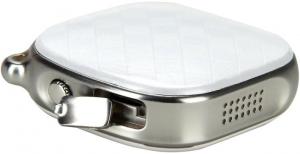 Кулон з GPS трекером GOGPS D15 білий