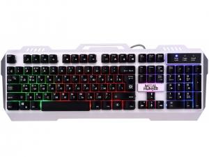 Клавіатура провідна DEFENDER Metal Hunter GK-140L