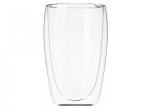 Набір чашок Ardesto з подвійними стінками, 400 мл, H 13,5 см, 2 од. (AR2640G)