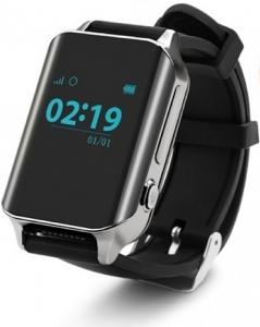 Смарт годинник GOGPS М01 хром