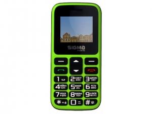 Мобільний телефон Sigma Comfort 50 HIT2020 Green