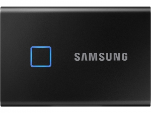SSD накопичувач Samsung 500GB USB 3.1 Gen 2 T7 Touch Black