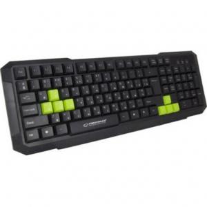 Клавіатура провідна Esperanza EGK102 USB Green (EGK102GUA)