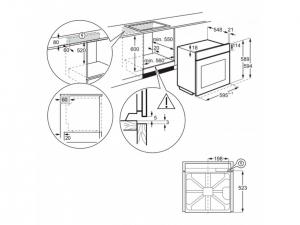 Духова шафа Electrolux OEF3H70TW nalichie