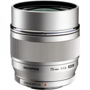 Об'єктив OLYMPUS ET-M7518 75mm 1:1.8 Чорний nalichie