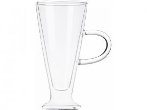 Набір чашок з ручками Ardesto з подвійними стінками, 230 мл, H 15,8 см, 2 од.(AR2623GH)