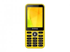 Мобільний телефон Sigma X-style 31 Power Yellow