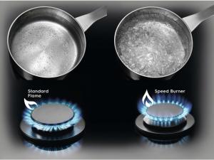 Варочна поверхність газова Electrolux GME263LX nalichie