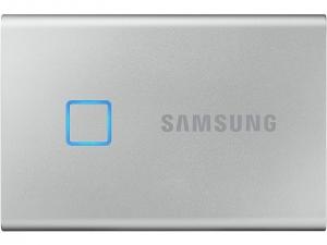 SSD накопичувач Samsung 2TB USB 3.1 Gen 2 T7 Touch Silver
